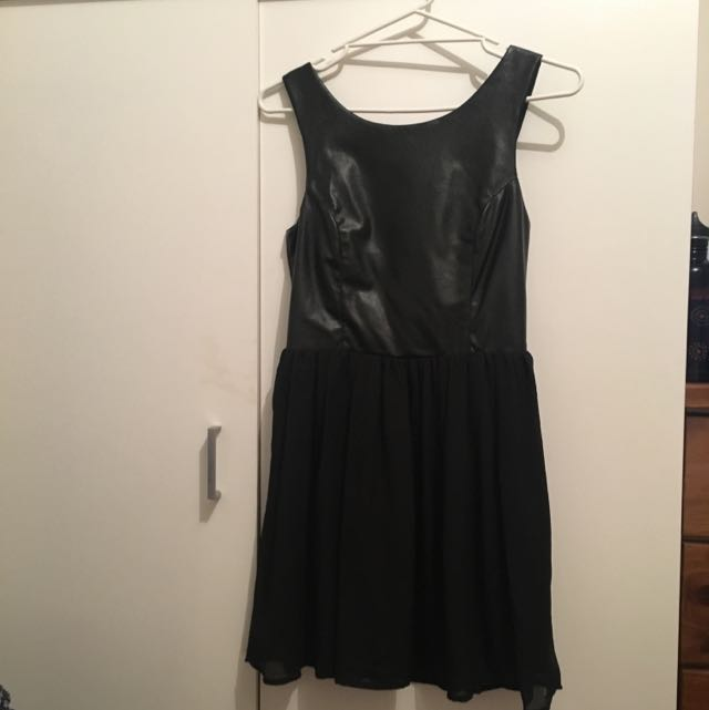 Women's Black Dress, Size Small