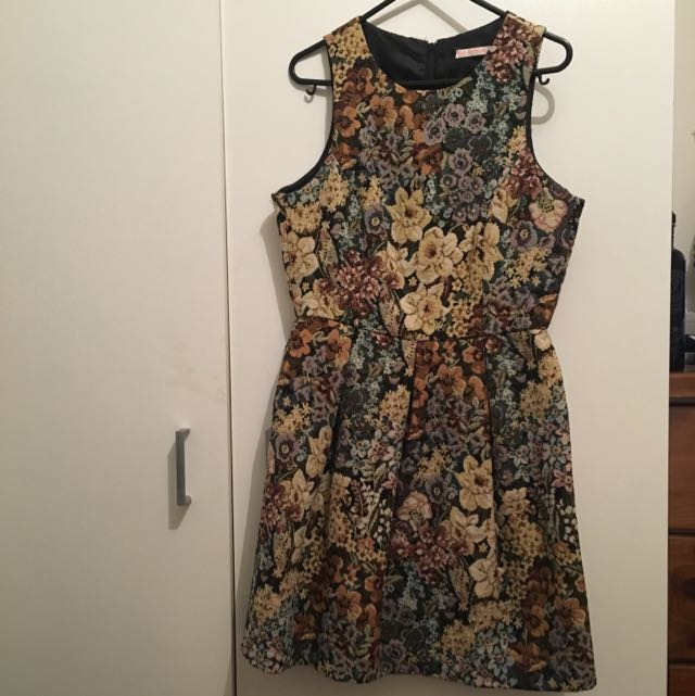 Women's Floral Dress, Size Small