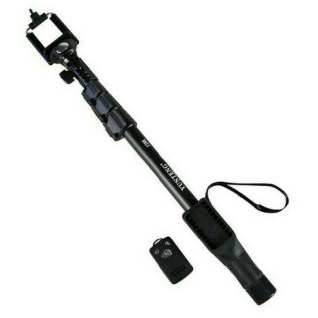 Yunteng 48cm Expandable Selfie Stick Monopod Pole with Bluetooth Shutter Remote Control
