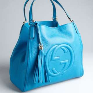 ⚡️SALE!!!⚡️Authentic GUCCI GG Soho Shoulder Bag in Calf Leather