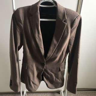 Zara Brown Blazer (XS)