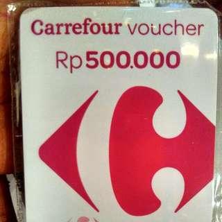 Voucher Carrefour