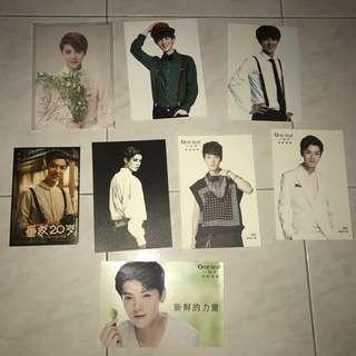 EXO Luhan Official Postcard Bookmark Photocard