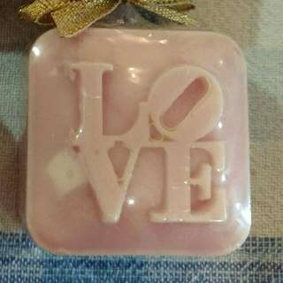 LV001 • Love Mold for DIY soap making melt and pour using soap base