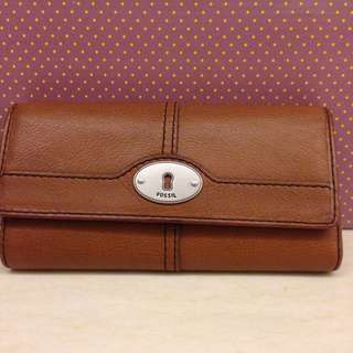 fossil wallet slightly used