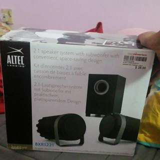 Altec Lansing Com Speakers W Subwoofer