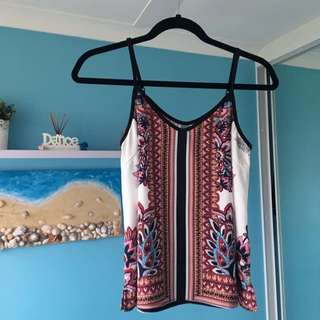 Dotti Singlet With Adjustable Straps