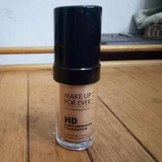 reserved - Make up for ever HD foundation