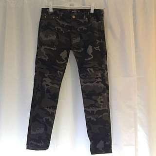 Zara Camouflage Jeans