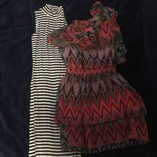 2 Dresses - Size Small