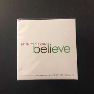 "Britney Spears ""Believe"" perfume"
