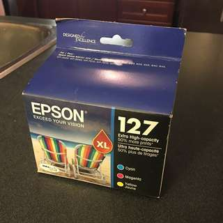 Epson 127 multicolour printer cartridges