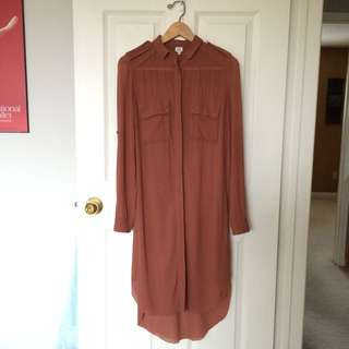 WILFRED 100% SILK LONG DRESS/TUNIC