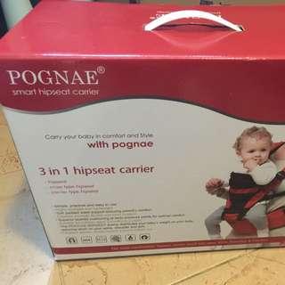 POGNAE Smart Hipseat Carrier 牛仔布色單雙揹帶全套