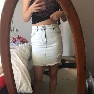 Denim Rusty Skirt