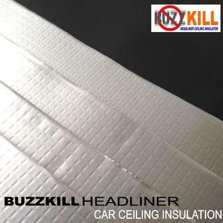 Buzzkill HeadLiner (Car Ceiling Insulator)