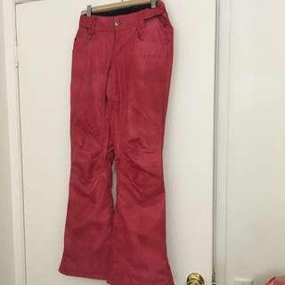 Women's Size S Roxy Slim Fit Snow Pants