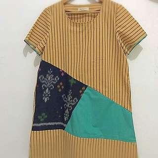 Lurik Tenun Dress