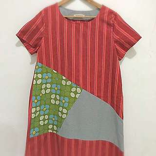 Lurik Batik Dress
