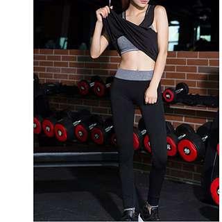 Exercising Yoga Gym Pilates Pants Tights Capris