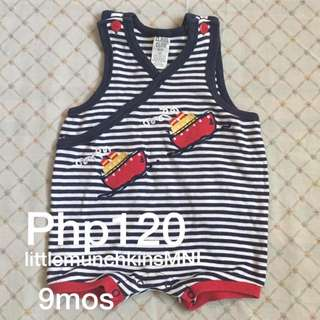 Preloved Romper 9 Months Baby Boy Clothes Boats
