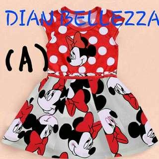 Red Dot Minnie Dress