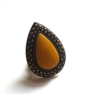 Samantha Wills 'Bohemian Bardot' Ring (Mustard)