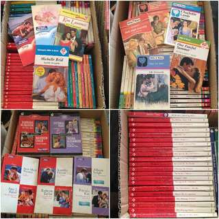 # Mills & Boon books (sexy, sweet++). $2 each. Only 75 left! P&H AVAIL