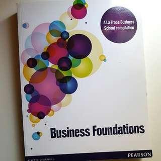 Business Foundations  (A La Trobe Business School compilation)