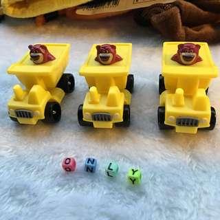 熊抱哥 玩具車擺件 一台99$