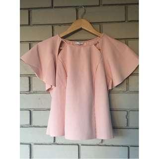 Zara dusty pink top size M