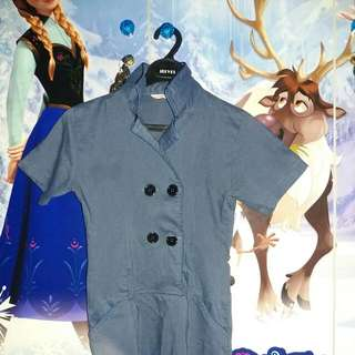 Dress Warna Biru Muda