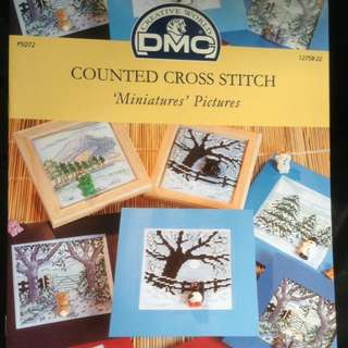 Cross Stitch Booklet <Miniatures Pictures>