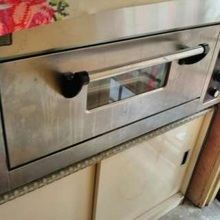 Electric Industrian Oven Free 2 Tray