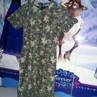 Dress Batik Made By Me Uk.S