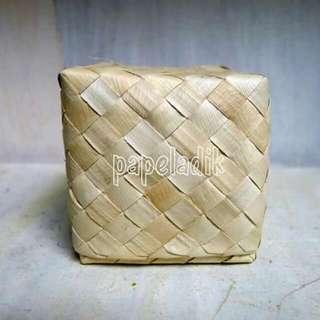 Buri or Pandan Square Gift Box - SMALL