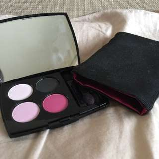 Lancôme LE Quad Shadow Palette Pink Punk And Black 01 Irreverent Madame
