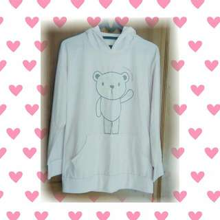 Hello Bear! Sweater (Baby Pink)
