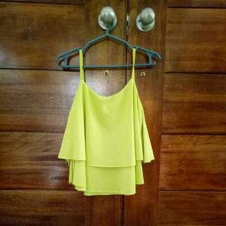 Top Hanging Blouse (apple green)