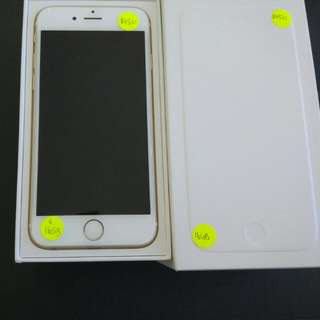 iPhone 6 16gb gold used but perfect condition
