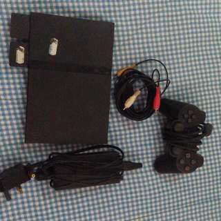 Sony PS2 console and accessories