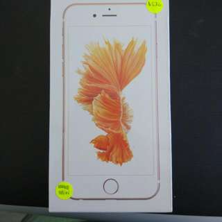 iPhone 6s 16gb Brand New Sealed