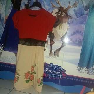 Dress Merah Coksu