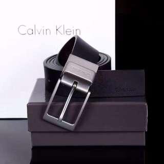 🚚 新款 CK皮帶 男士真皮皮帶 旋轉扣 禮盒+提袋+代購小票+打洞器+防塵袋