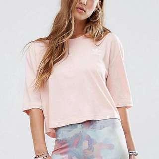 Adidas Originals Top in Vapour Pink