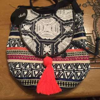 BNWT Dotti Aztec Print Shoulder Bag