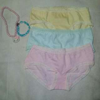 Hangten Underwear 3 For 50php