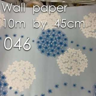 Waterproof Wallpaper With Adhesive
