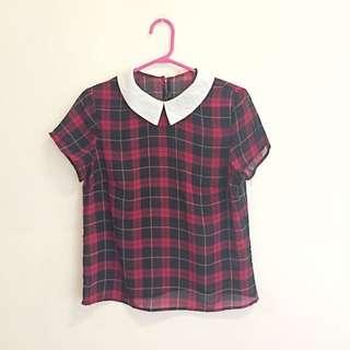 Tartan See-through Shirt
