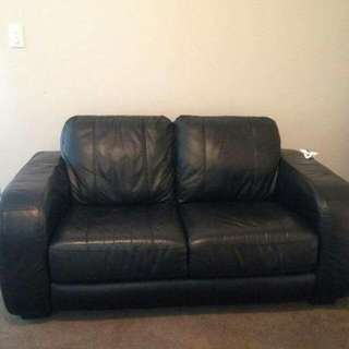 Black Couch Excellent Condition